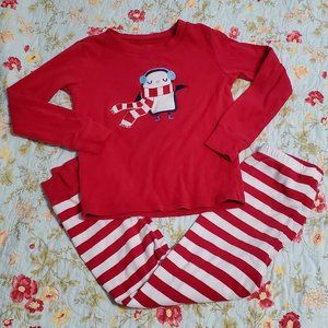 Gymboree Long Sleeve 2 Pc Winter Pajama Set Size 6